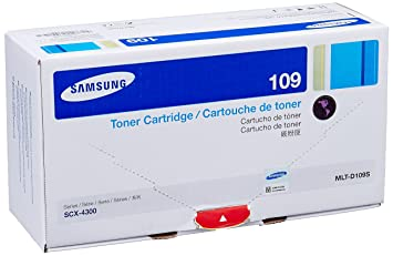 Samsung Toner Cartridge Samsung SCX-4300 (MLT-D109S/XIP) All-In-One Printers at amazon