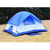 Busen Mountain Waterproof Tent Dome Outdoor Camping Instant Tents for Camping 4 Person Blue