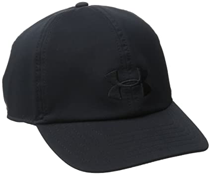 Under Armour UA Renegade Cap Gorra de béisbol, Mujer, Negro (Black),