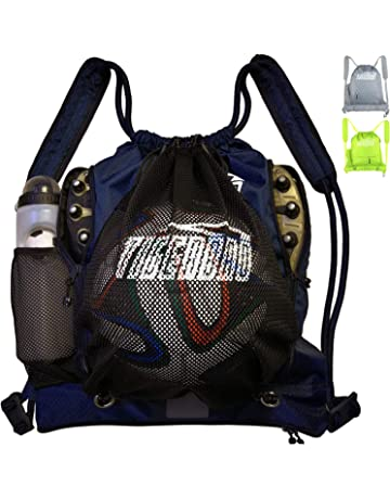 283dd752eca9 Tigerbro Soccer Backpack for Youth Kids Girls Boys Women Men Sports Bag for Basketball  Football with