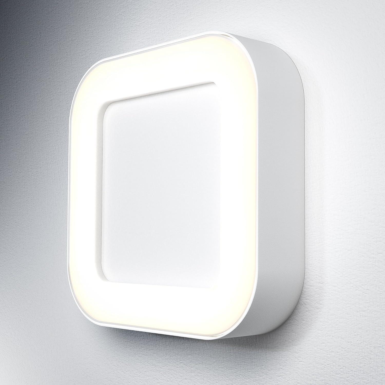 Osram Endura Style Square Luminaria LED de Exterior, 13 W, Blanco, 20.2 x 20.2 x 4.5 cm