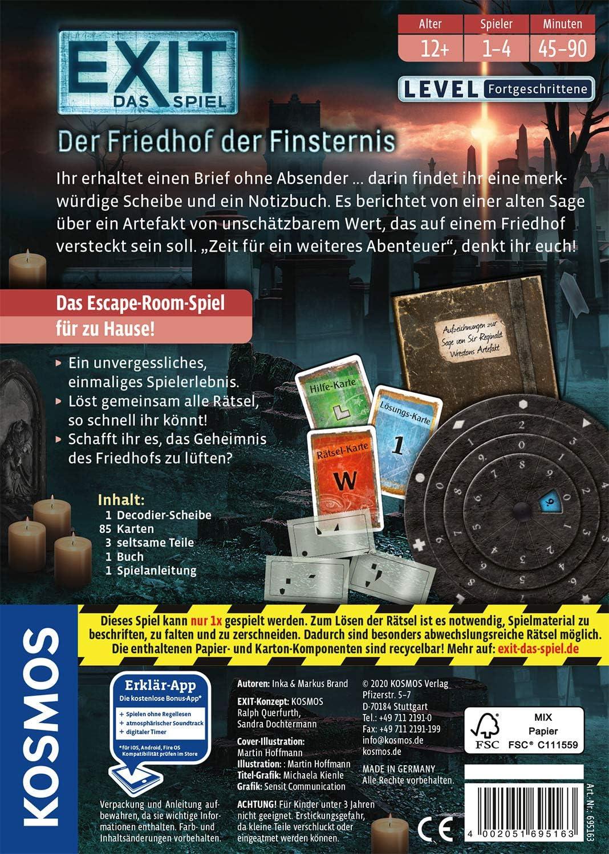 Amazon Prime - KOSMOS EXIT - Das Spiel - Der Friedhof der Finsternis für nur 8,59€