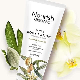 product image for Nourish Organic | Hydrating Body Lotion - Almond Vanilla | GMO-Free, Cruelty Free, 100% Vegan (8oz)