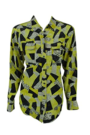 ac08a95d Equipment Femme Womens Signature Silk Shirt: Amazon.co.uk: Clothing
