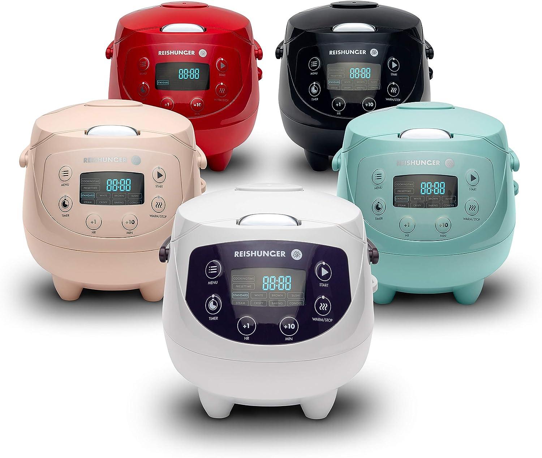 Smart Booking ist auch 1,6-Liter-Haushalts-Mini-Reiskocher Echtzeit-Temperatursensor/überwachung Smart Touch Antihaftbeschichtung ist leicht zu reinigen