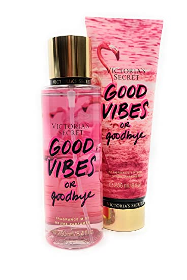 b7ac57456c44b Amazon.com : Victoria's Secret Good Vibes or Good Bye Body Mist and ...