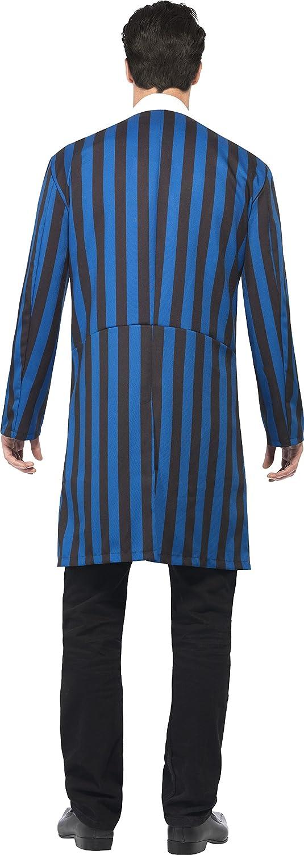 Smiffys Disfraz de duque de los vampiros, Azul y negro, con chaqueta, falsa camisa y paj: Smiffys: Amazon.es: Juguetes y juegos