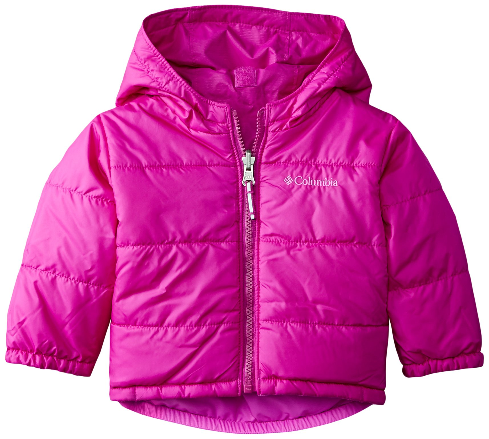 Columbia Baby Girls' Double Flake Reversible Set, Bright Plum/Foxglove, 6-12 Months by Columbia (Image #3)