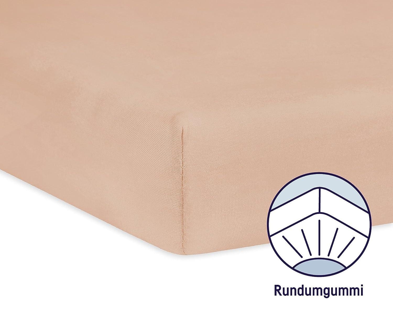 Spannbetttuch Jersey f/ür das Kinderbett Farbe: sand Julius Z/öllner 8320147760 Gr/ö/ße: 60x120 // 70x140 cm