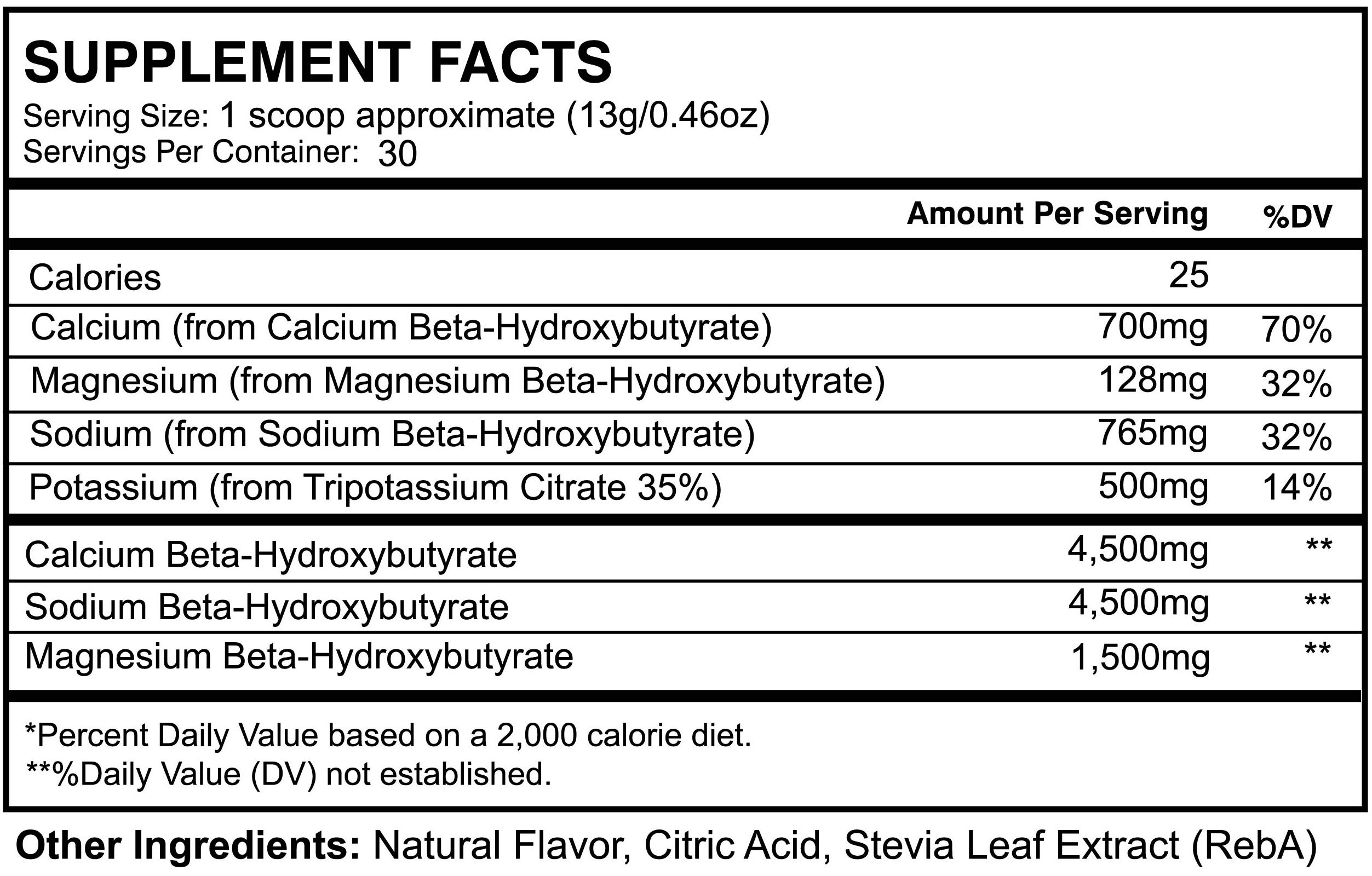 Ketosene XLTM 30 Servings Extra Large Exogenous Ketones Powder - Kickstart Ketosis Within 1-Hour with a Pure Blend of Calcium and Magnesium Ketone BHB Salts (KetoVantage® BHB) - Perfect Keto Diet Bulk by VitaMonk (Image #6)
