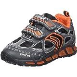 Geox J Munfrey a, Zapatillas para Niños, Azul (Navy/Silver), 29 EU