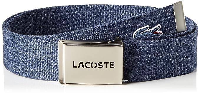 869ecbb018f7 Lacoste RC0012, Ceinture Homme, Gris (Graphite), (Taille Fabricant   110)   Amazon.fr  Vêtements et accessoires