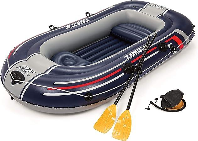 Bestway Hydro-Force - Barca raft naviga para 2 personas, con remos ...