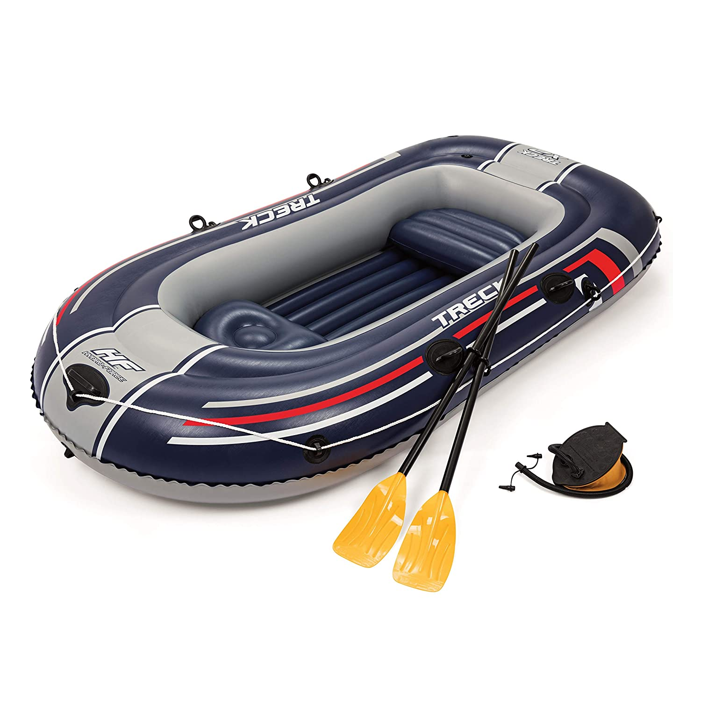 Bestway Hydro-Force Barca raft naviga para 2 Personas, Unisex Adulto