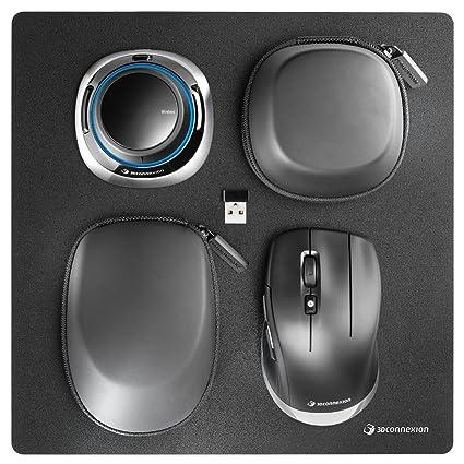 9fc8d64ba17 Amazon.com: 3Dconnexion 3DX-700067 Spacemouse Wireless Kit - 3D Mouse - 2.4  Ghz (3Dx-700067), Black: Computers & Accessories