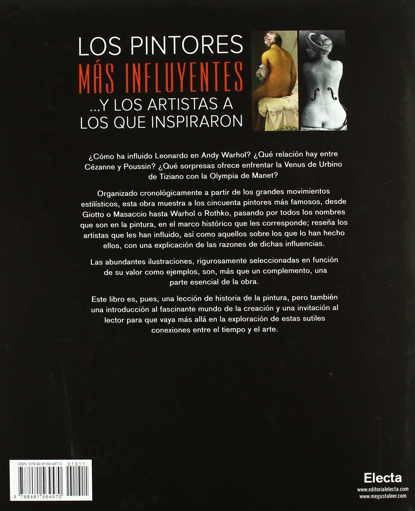 los pintores ms influyentes y los artistas a los que inspiraron electa arte amazones david gariff libros - Nombres De Pintores Famosos