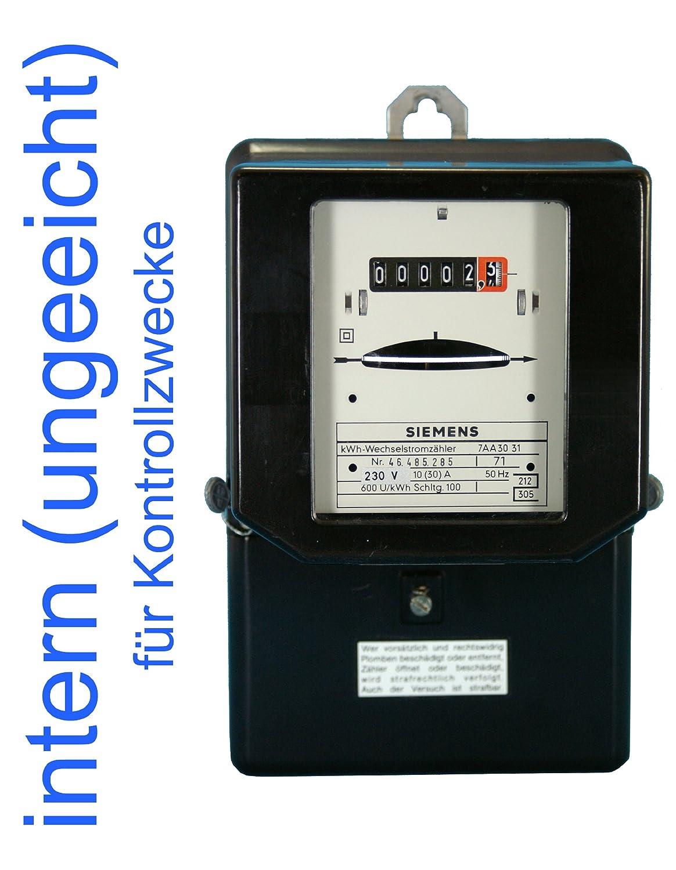 Wechselstromzä hler 10(30) A intern ungeeicht fü r Kontrollzwecke (Last max. 6, 9 kW) BZR 101030