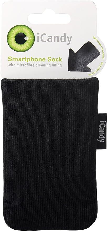 iCandy ICD2309 - Calcetín/funda para smartphones, color negro ...
