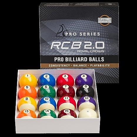 RCB 2.0 Royal Crown Pro – Billar Bolas: Amazon.es: Deportes y aire libre