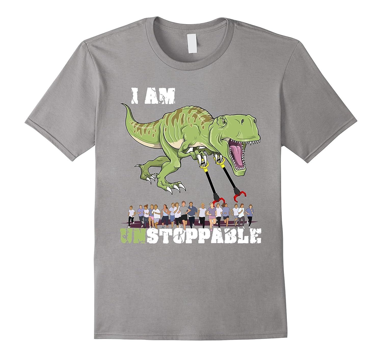 c300fd06 I Am Unstoppable Dinosaur T-Rex Trex Funny Cute T-shirt-RT – Rateeshirt