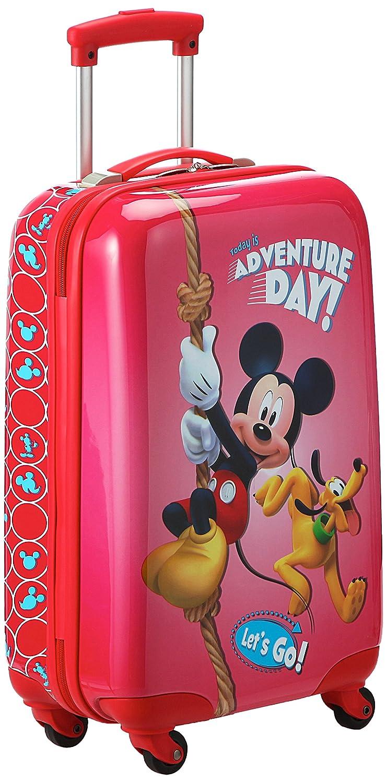 Disney Kabinenkoffer Mickey Kindergepäck, 33 Liter, Rot