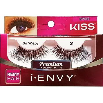 Kiss Me Envy So Wispy 01 pestañas: Amazon.es: Belleza