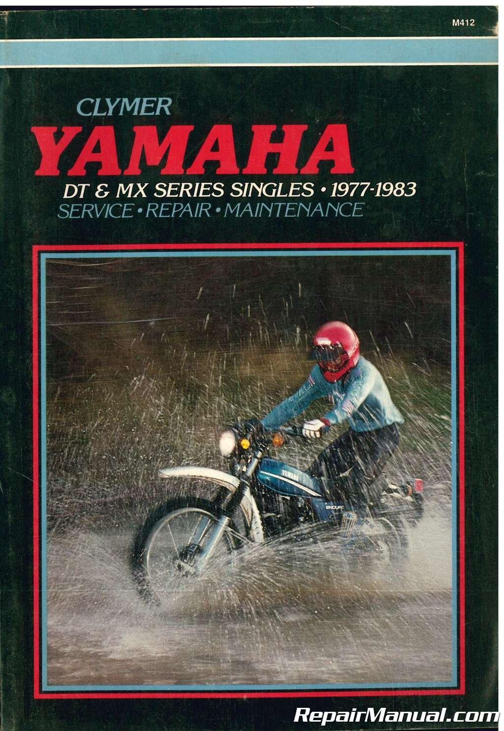 M412 1977 - 1983 Yamaha DT 100 125 175 250 400 MX100 175 Clymer Motorcycle Repair  Manual: Manufacturer: Amazon.com: Books