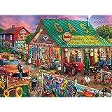 Buffalo Games - Antique Market - 1000 Piece Jigsaw Puzzle, Multi