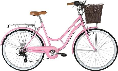 Barracuda Mujer Delphinus 7 para Bicicleta, Color Rosa, tamaño 19 ...