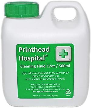 Amazon.com: Printer líquido de limpieza – 500 ml 17oz ...