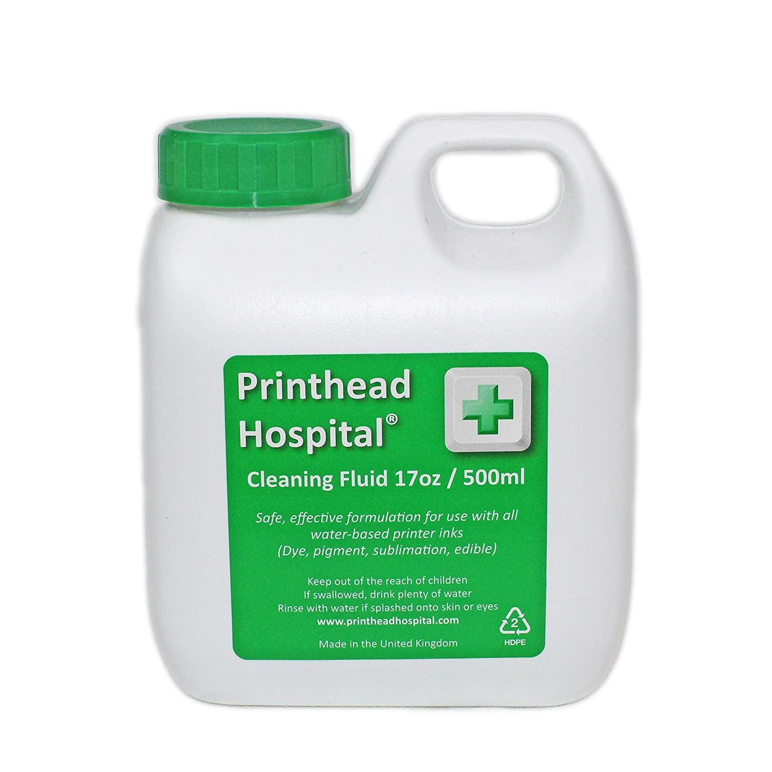 Printer Cleaning Fluid - 500ml 17oz