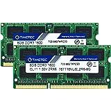 Timetec Hynix IC 16GB(2x8GB)ノートPC用メモリ DDR3 1600 MHz PC3 12800 1.35v 204 Pin SODIMM Laptop memory upgrade 永久保証 (16GB(2x8GB))
