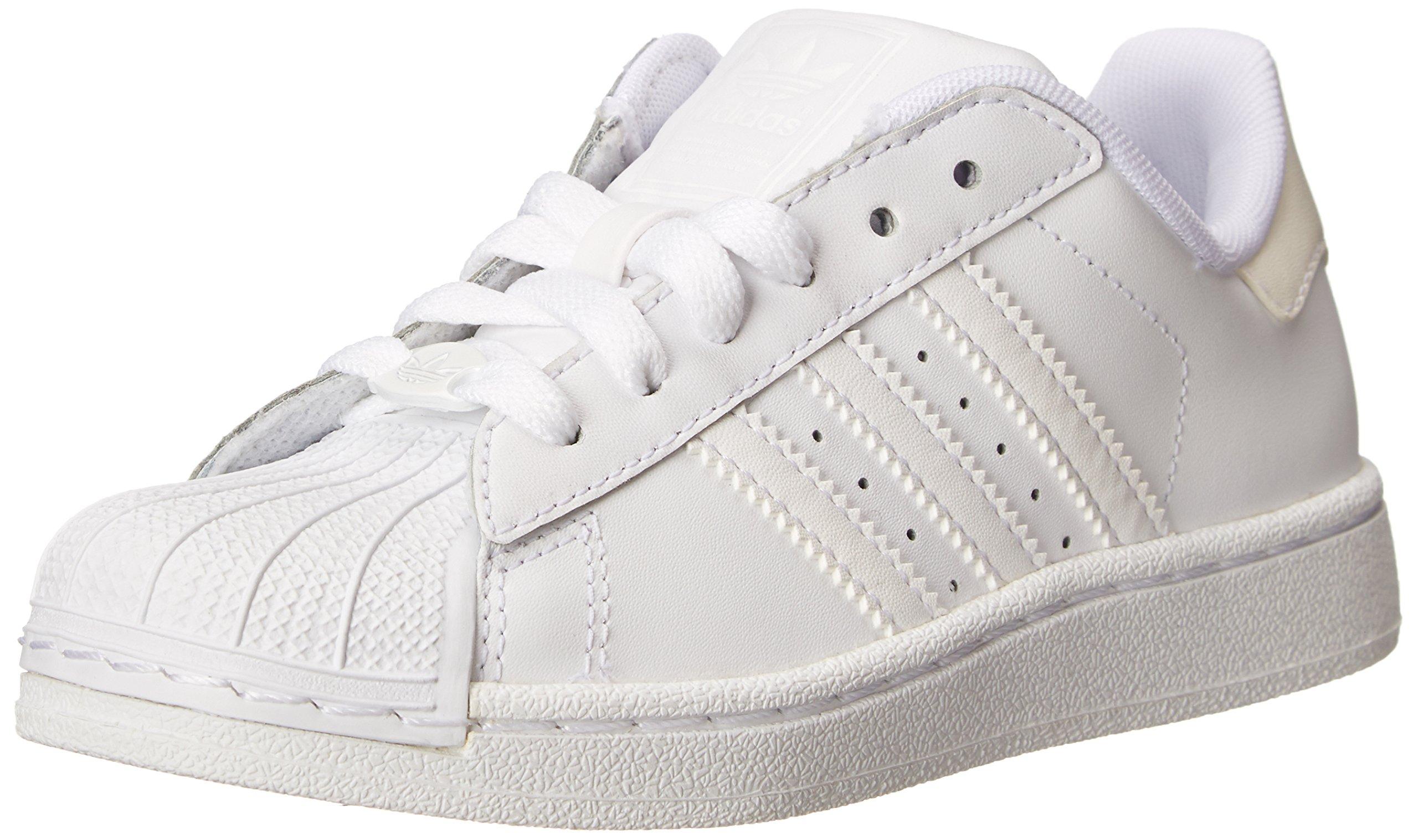 adidas Originals Superstar II Sneaker (Little Kid/Big Kid),White/White/White,12.5 M US Little Kid