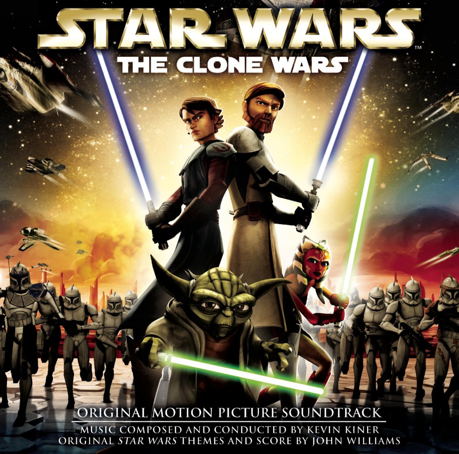 Uncategorized Star Wars Clone Pictures kevin kiner john williams star wars the clone amazon com music