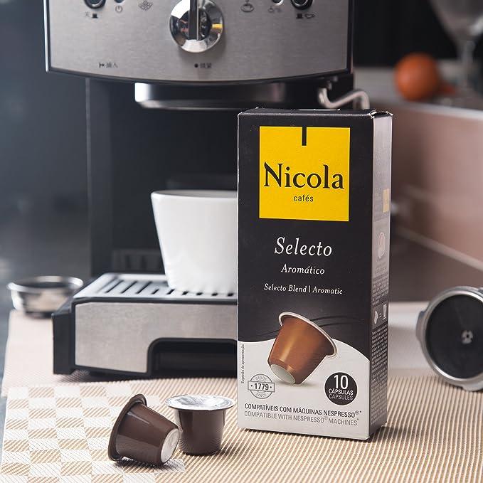 Nicola Selecto, Cápsulas de café - 10 de 10 (Total 100 cápsulas): Amazon.es: Alimentación y bebidas