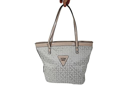 Guess G Logo Purse Tote Shoulder HandBag Tansy (Nude Beige)  Amazon ... ca11d4e333cb9