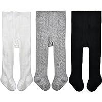 Girls Tights Pantyhose 100/% Cotton White by Conte Kids Bravo Size 2T 92-98