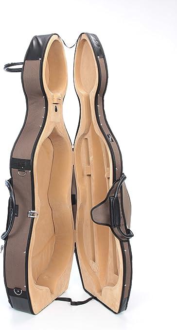 Estuche para Violonchelo Espuma Delux 4/4 Beige M-Case: Amazon.es: Instrumentos musicales