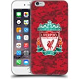 Official Liverpool Football Club Home Red Crest Digital Camouflage Soft Gel Case for iPhone 6 Plus/iPhone 6s Plus