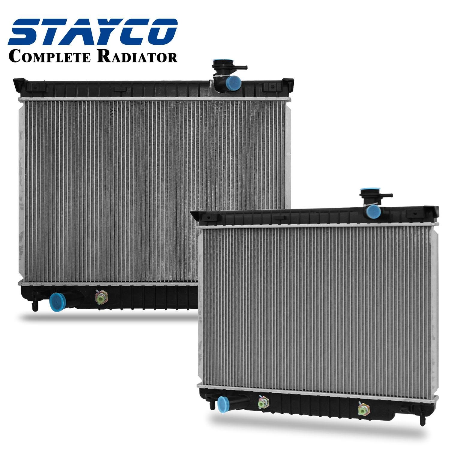 CU2458 Radiator Replacement for Chevrolet Trailblazer 2002 2003 2004 2005 2006 2007 2008 2009 4.2L L6 STAYCO
