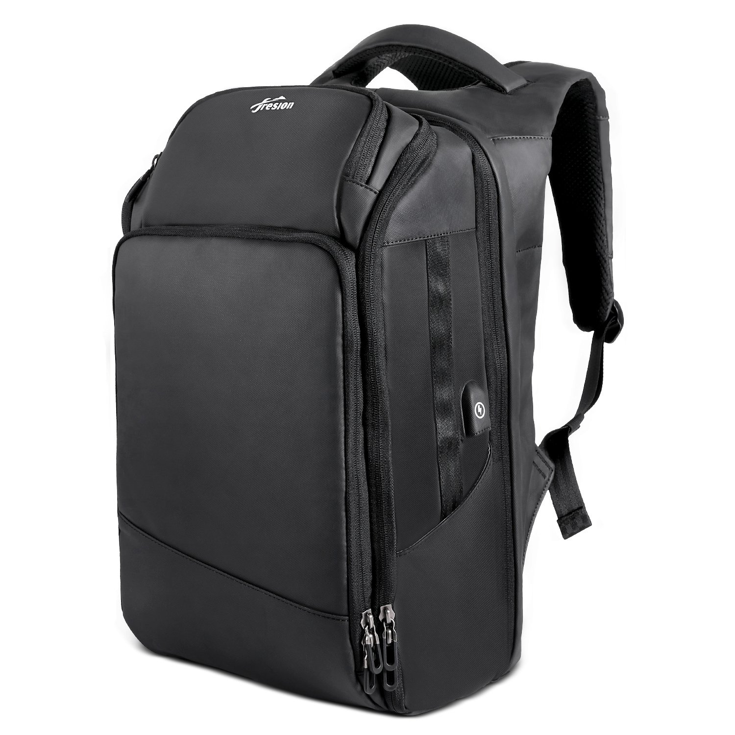 Travel Laptop Backpack 17'' Water Resistant Business USB Charging Men