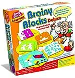 Small World Toys Brainy Blocks Deluxe Baby Toy