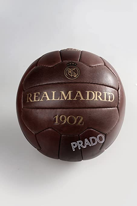 fan-fußball Club balón de fútbol Real Madrid Braun 5: Amazon.es ...