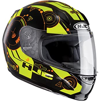CLYSFS - HJC CL-Y Simitic Youth Motorcycle Helmet S Fluo (MC4H)