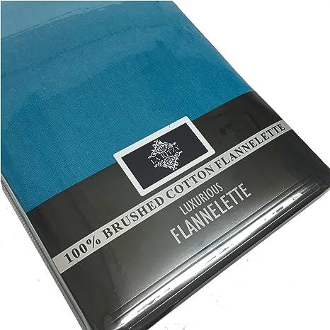 Franela térmica 100% algodón cepillado plano o sábana bajera Plain ...