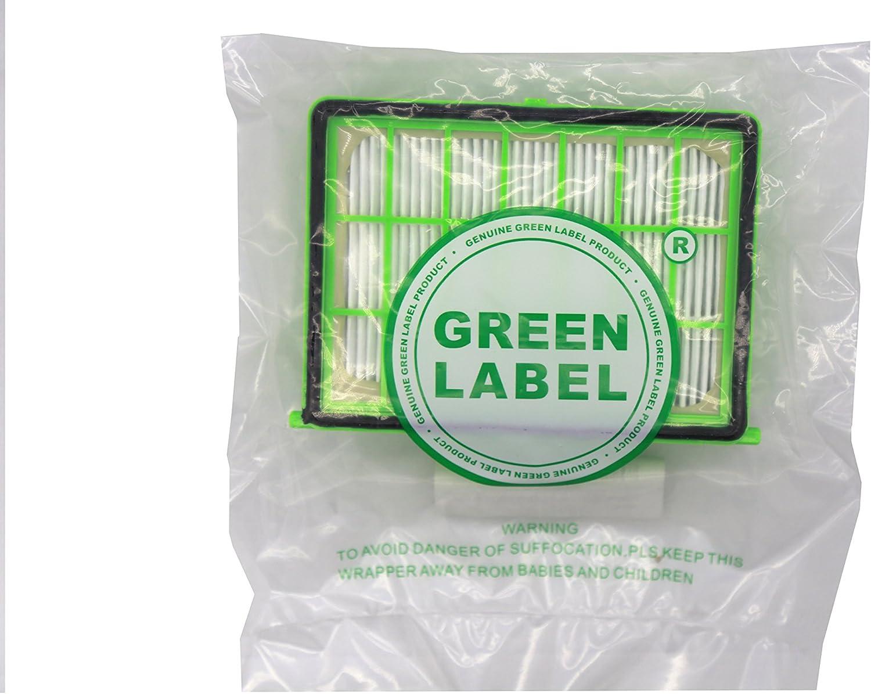 Green Label Filtro HEPA para Aspiradoras Rowenta y Moulinex ...