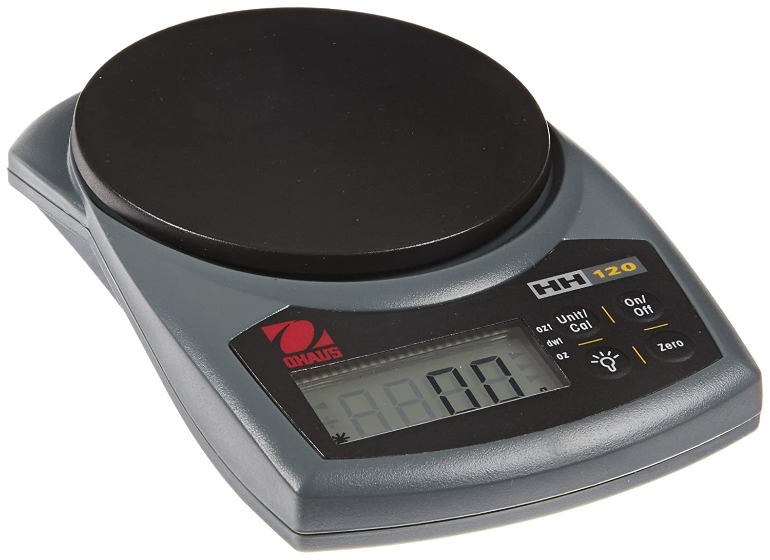 Ohaus HH120D Hand-Held Series Portable Scales, 60g/120g Capacity, 0.1g/0.2g Readability Ohaus Corporation