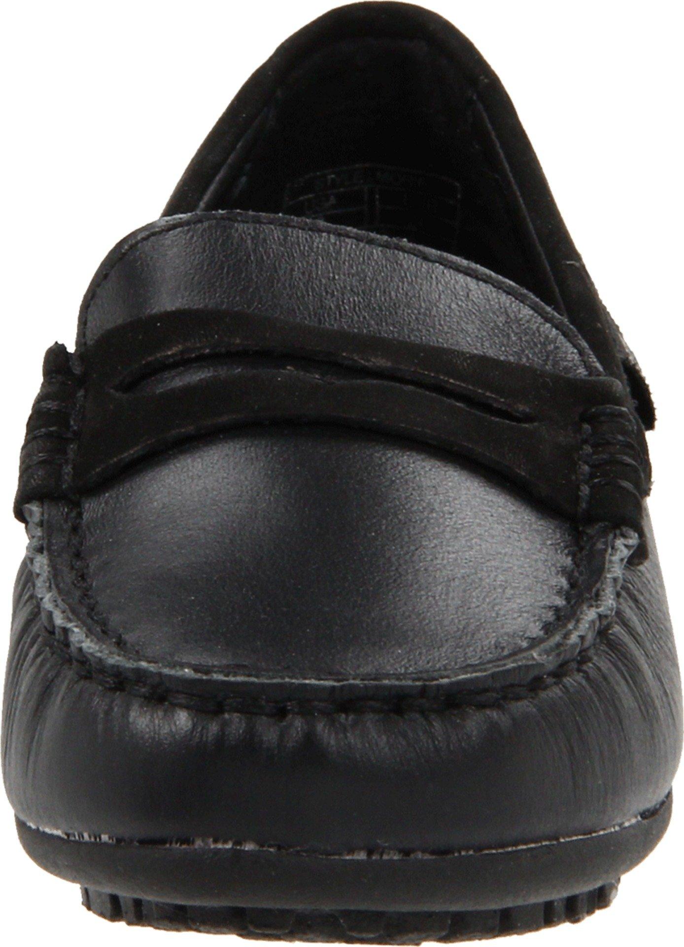 umi  Morie Penny Uniform Slip-On (Toddler/Little Kid/Big Kid),Black Smooth,28 EU (10.5 M US Little Kid) by umi (Image #4)