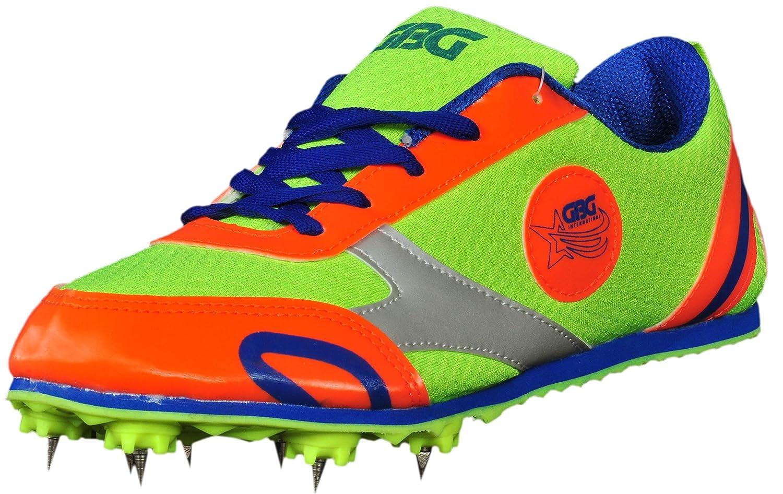 GBG Men's Orange \u0026 Green Running Shoes