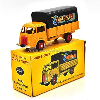 DT88E Voiture réédition DINKY TOYS atlas 25JJ Ford camion bâché CALBERSON